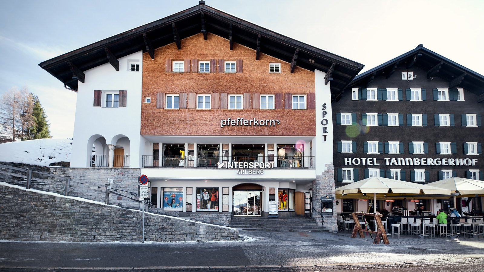 Das Intersport Network nun mit 3 Shops in Lech